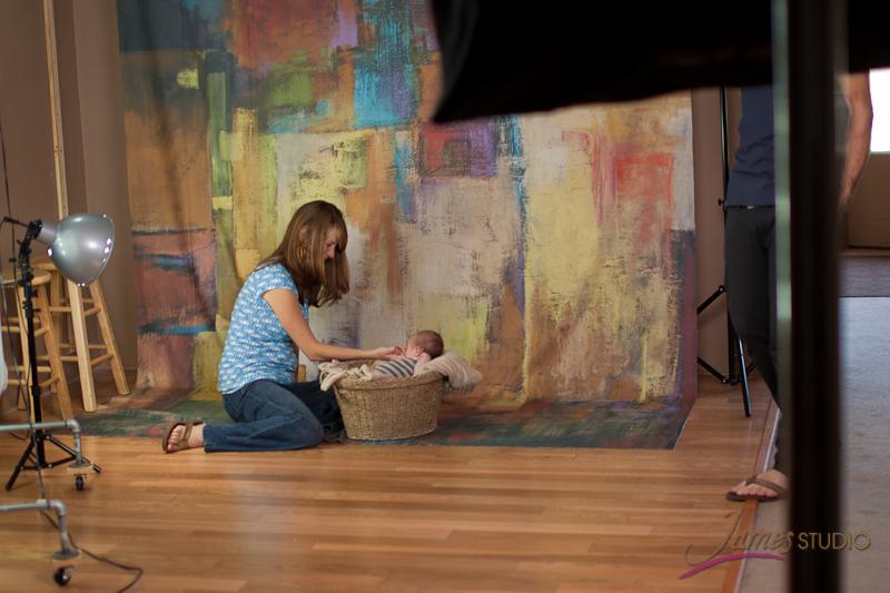 a studio shot